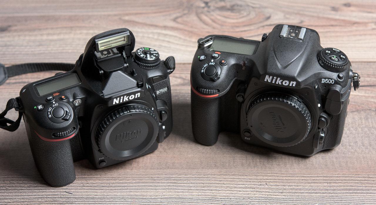 Nikon D7500 o Nikon D500 : quale scegliere ? (guida all'acquisto)