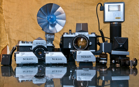 F, Photomic, obiettivi e flash: all Nikon brand