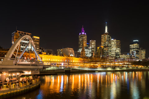 Melbourne - Yarra River by Night