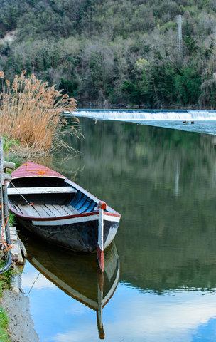 Lungo le rive dell'Arno
