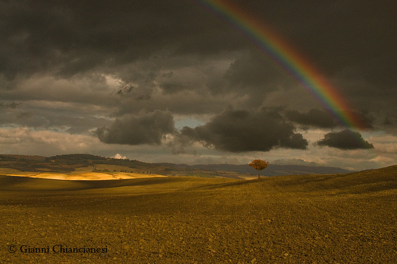 Arcobaleno...in val d'Orcia
