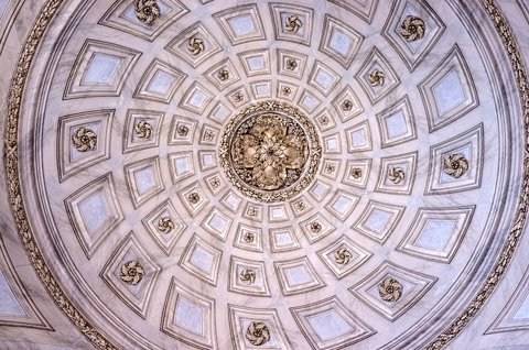 Cupola dell'ingresso della reggia