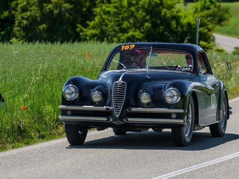 Alfa Romeo 6C 2500 SS Coupé Touring del 1949