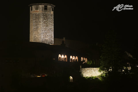 CastelValer by night