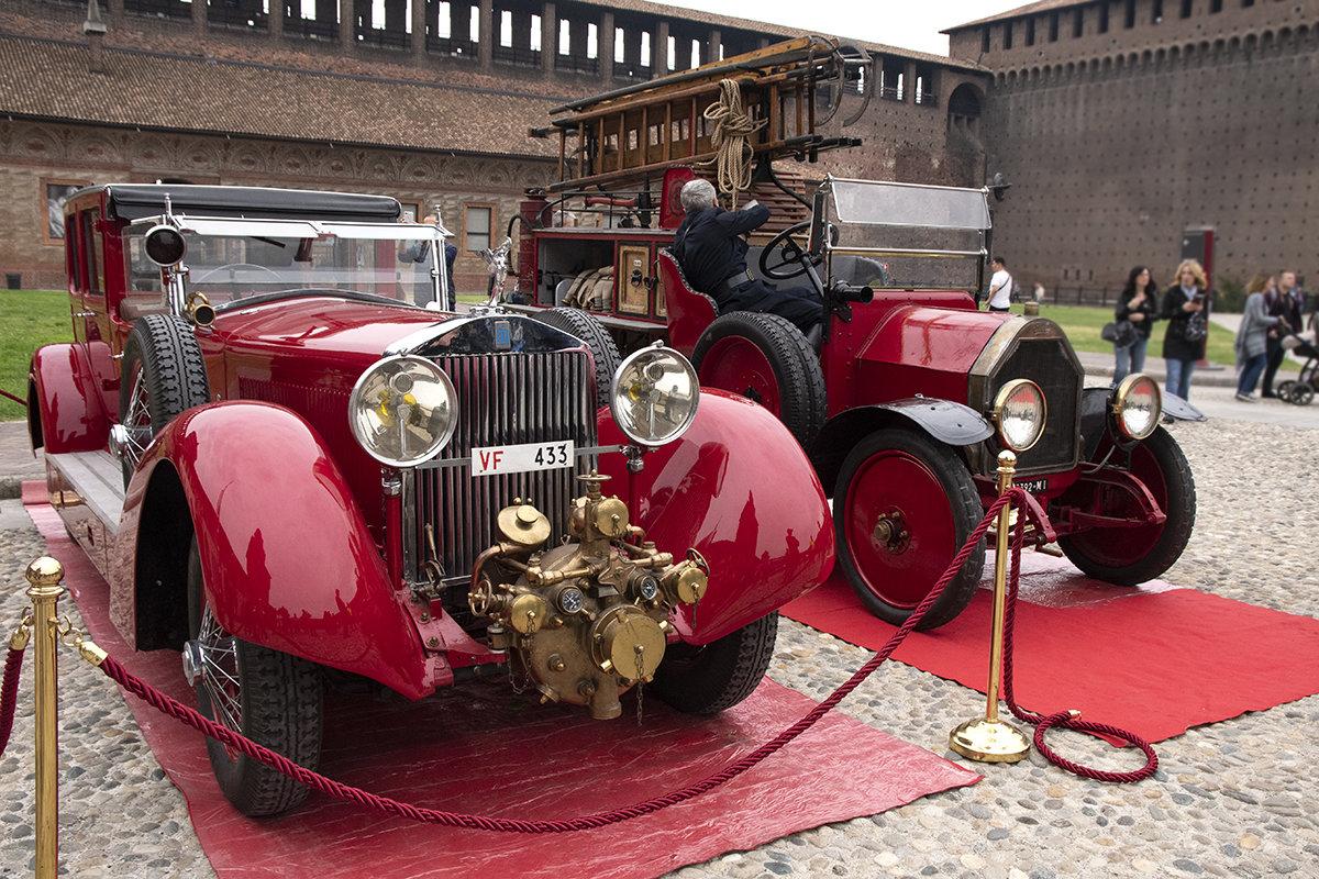 [reportage] L'Isotta dei Pompieri di Milano