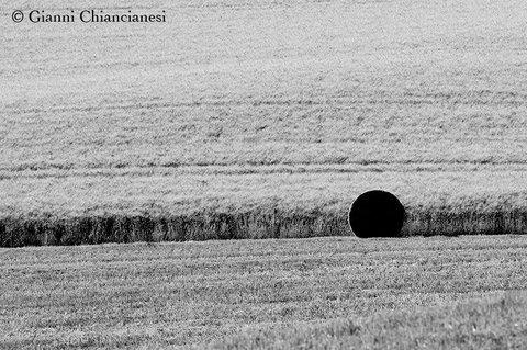 Val d'Orcia....Il punto nero....