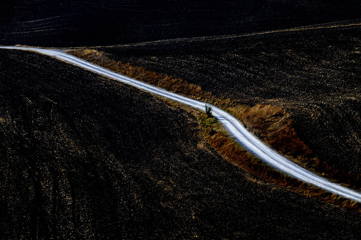 Strada Bianca in Val d'Orcia......