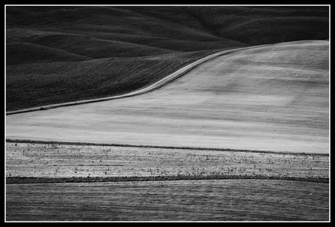 Strade bianche in val d'Orcia