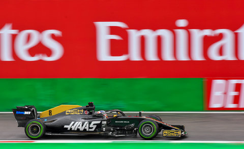 Haas #8 : Romain Grosjean
