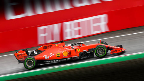 Ferrari #5 : Sebastian Vettel