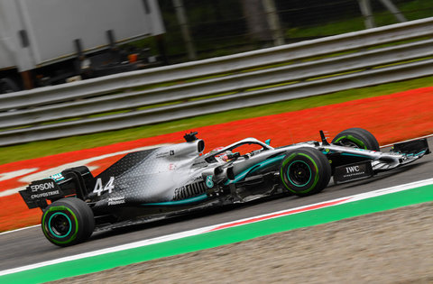 Mercedes #44 : Lewis Hamilton