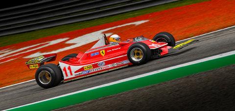 Ferrari #11 : Jody Scheckter