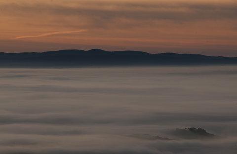 Un'altra mattina in Val di Paglia...