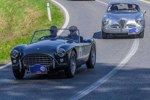 AC ACE Bristol del 1960 e Alfa Romeo 1900 Sprint serie 1 del 1952