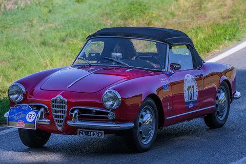 Alfa Romeo Giulietta Sprint Spider del 1957