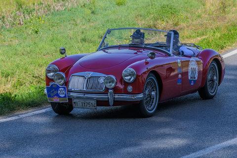 MG A Roadster del 1956