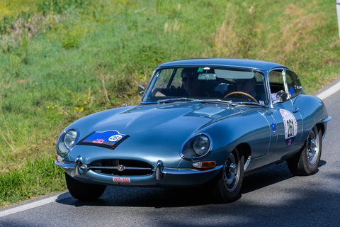 Jaguar E Type coupé del 1963