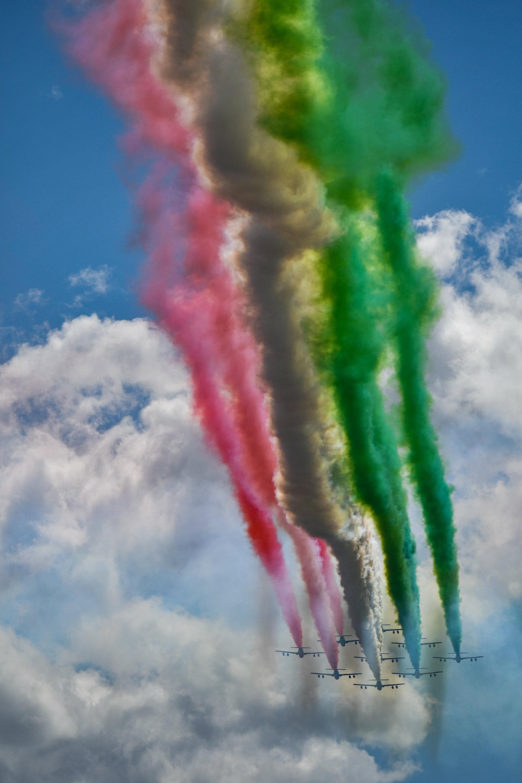 Pattuglia Acrobatica Nazionale: le Frecce Tricolori a Palermo