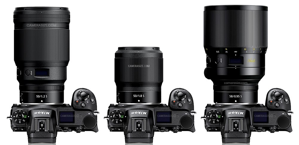 Nikkor-Z-50mm-f1.2-S-vs.-Nikkor-Z-50mm-f1.8-S-vs-Nikkor-Z-58mm-f0.95-S-Noct-specifications-comparison.jpg