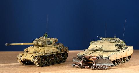 Generazioni : MBT USA del 1941 e del 1991