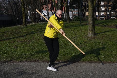 Bastone lungo Taijiquan 1